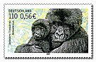 Stamp Germany 2001 MiNr2182 Berggorilla.jpg