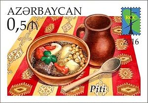 Piti (food) - Image: Stamps of Azerbaijan, 2016 1284