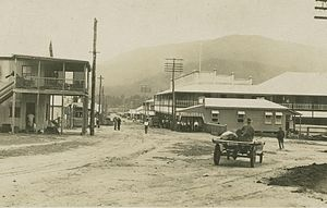Tully, Queensland - Township of Tully in 1927