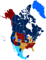 State recognition of same-sex relationships (North America) 2014.png