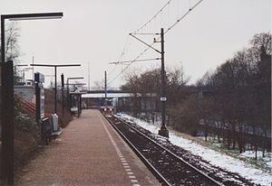 Rhenen railway station - Image: Station Rhenen (2005)
