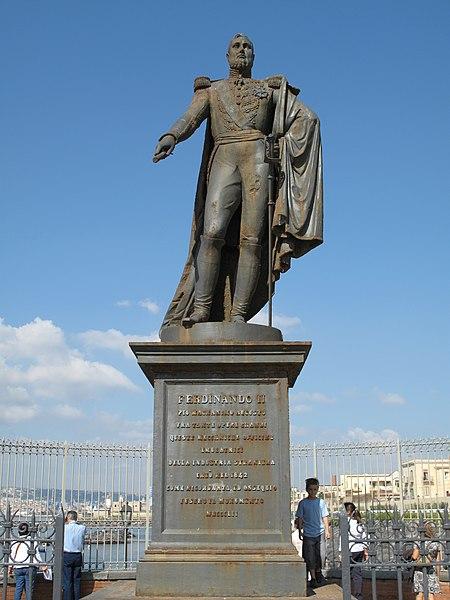 File:Statua Ferdinando II.JPG