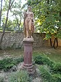 Statue of Goddess Flora in the garden of Jókai Villa. - Honvéd Street, Balatonfüred.JPG