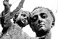 Statue on grave stone in Southern Cemetery, Manchester 17111809325.jpg