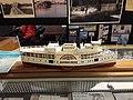 Steamboat model, Tangier History Museum.jpg