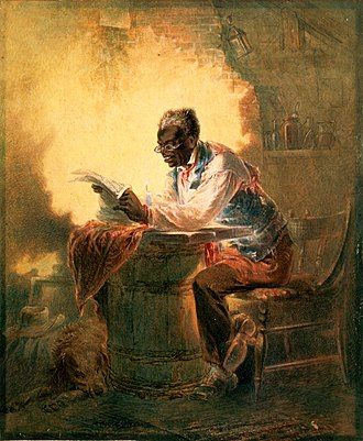 Emancipation Proclamation - Image: Stephens reading proclamation 1863