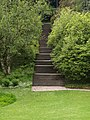 Steps up Heath Bank, Dartington - geograph.org.uk - 827535.jpg