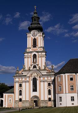 Stiftskirche Wilhering Fassade