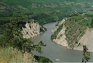 Stikine River - The Stikine River near Telegraph Creek