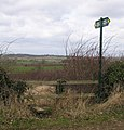 Stile near to Jericho Lodge - geograph.org.uk - 144565.jpg