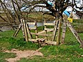 Stile on The Geopark Way, by River Severn - geograph.org.uk - 1304300.jpg