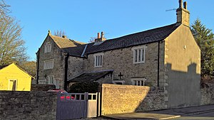 Listed buildings in Padiham - Image: Stockbridge House, Padiham
