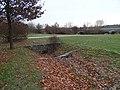 Stodůlky, Centrální park, konec umělého meandru.jpg