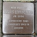 Stolperstein Bocholt Hemdener Weg 11 Julius Löwenstein.jpg