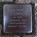 Stolperstein Bocholt Schwartzstraße 14 Luise Löwenstein.jpg