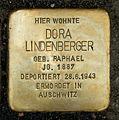 Stolperstein Dora Lindenberger Otto Braun Str 70 Berlin.jpg