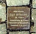 Stolperstein Elly Ortmann - Aachen.JPG