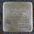 Stolperstein Grete Untiedt Gerichtsstraße 15 Ahlen.nnw.jpg