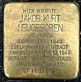 Stolperstein Kleve Große Straße 90 Jakob Kurt Neugeboren.jpg