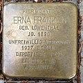 Stolperstein Kleve Tiergartenstraße 14 Erna Franken.jpg