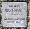 Stolperstein Wassermannstr 69 (Adler) Franz Kirsch.jpg