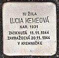 Stolperstein für Lucia Kemeova.jpg
