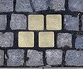 Stolpersteine Aachen, Verlegestelle Friedrichstraße 48.jpg