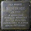 Stolpersteine Hürth, Alt-Hürth, Wilhelm Kox (Matthiasstraße 4).jpg