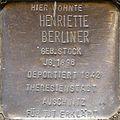 Stolpersteine Köln, Henriette Berliner (Siegburger Straße 373).jpg