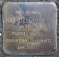 Stolperstein for Max Ziegellaub (Thieboldsgasse 102)