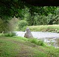Stone structure in the River Esk - panoramio.jpg