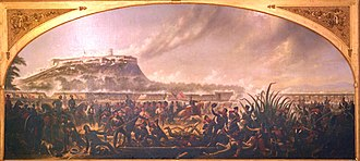 Battle for Mexico City - James Walker, Storming of Chapultepec (1847)