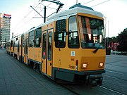Straßenbahn der Tatra-Bauart (genaue Bezeichnung KT4D-t mod)