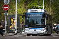 Strasbourg CTS ligne 10 essai bus électrique Yutong 20 avril 2016.jpg