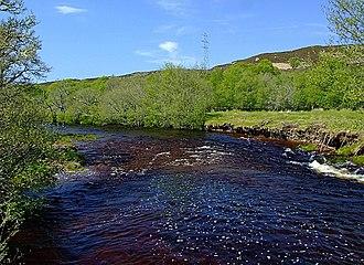 Strath - Strath Carnaig river