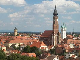 View of Straubing.