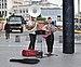 Street performers on Carrefour de l'Europe, Brussels, BE (DSCF6730).jpg