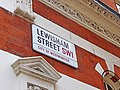 Street sign for Lewisham Street, London SW1 - geograph.org.uk - 1407049.jpg