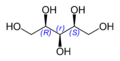Structure of Xylitol.png