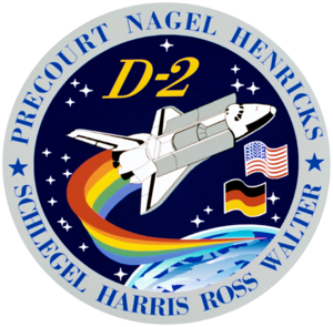 STS-55 - Image: Sts 55 patch