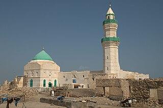 Suakin Place in Red Sea, Sudan