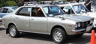 Subaru Leone - 1972 Subaru Leone 4WD sedan (A34)