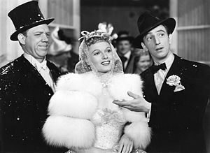 Sunny (musical) - L-R: Paul Hartman, Anna Neagle, and Ray Bolger in the 1941 film adaptation