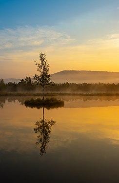 Sunrise at TaniJubbar Lake