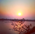Sunset in buriganga river.png