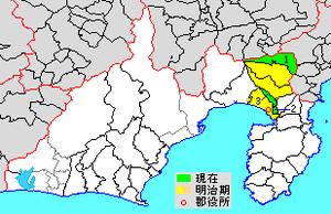 Suntō District, Shizuoka - Map of Suntō District in Shizuoka Prefecture