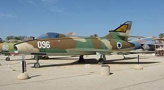 Dassault Super Mystère - Super Mystère at the Israeli Air Force Museum in Hatzerim