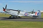 Supermarine Spitfire XVIIIe 'SM845 R' (G-BUOS) (45015643114).jpg