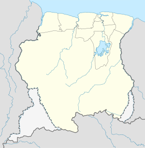 पारामरिबो is located in Suriname