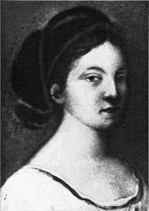 Susette Gontard - Gontard by Elisabeth Sömmering.